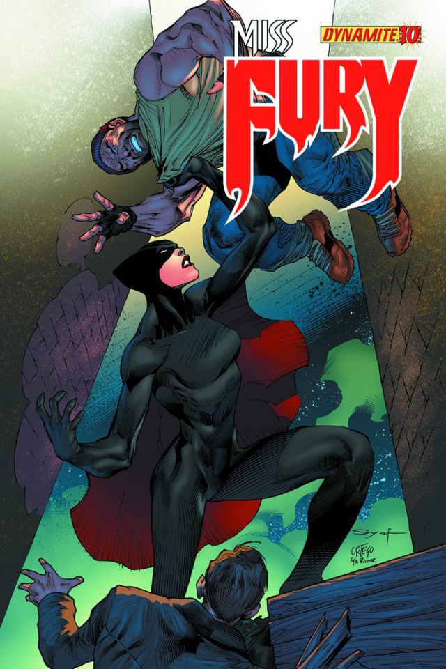 Miss Fury #10 (Syaf Cover)