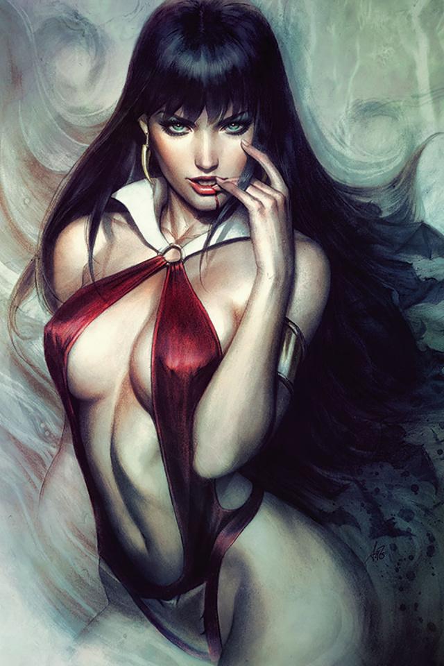 Vampirella #6 (Artgerm Virgin Cover)