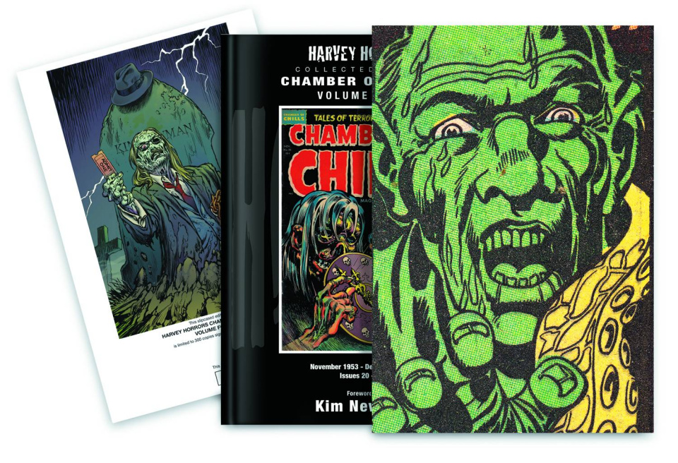 Harvey Horrors: Chamber of Chills Vol. 4 (Slipcase Edition)