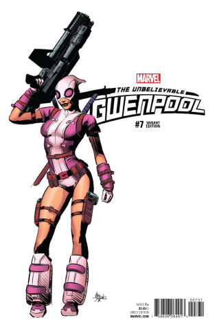 Gwenpool #7 (Deaodato Teaser Cover)
