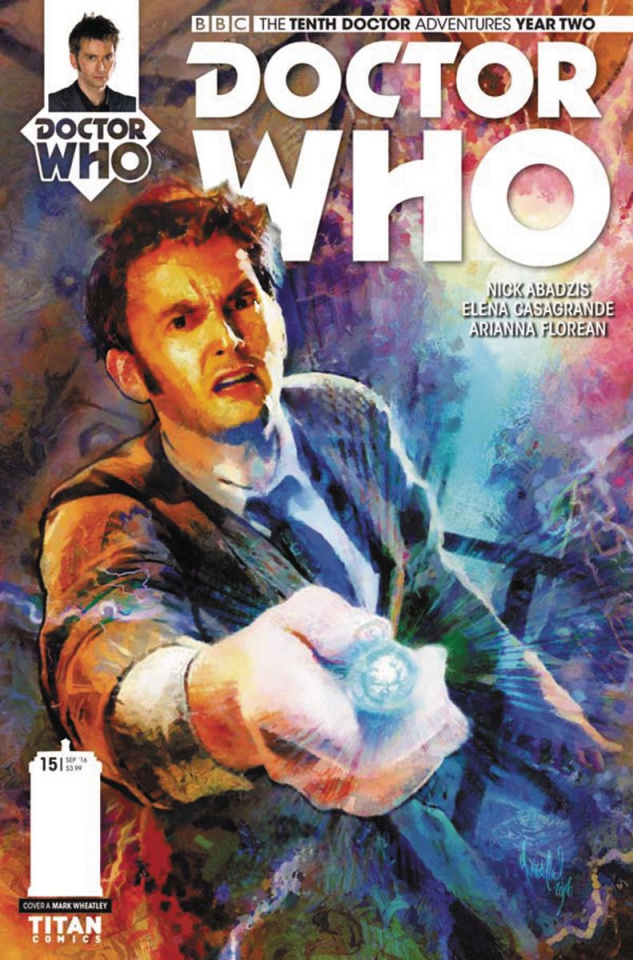 Doctor Who: New Adventures with the Tenth Doctor, Year Two #15 (Wheatley Cover)