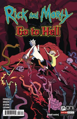 Rick and Morty Go to Hell #3 (Oroza Cover)