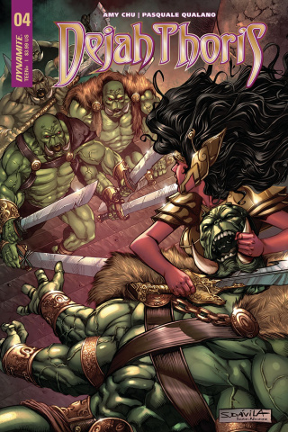 Dejah Thoris #4 (Davila Cover)