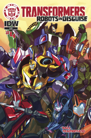 The Transformers: Robots in Disguise Animated #4