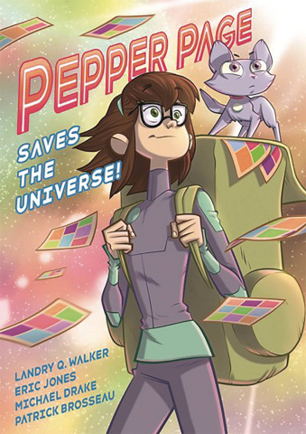 Pepper Page Saves the Universe!