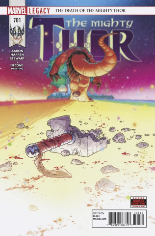 The Mighty Thor #701 (2nd Printing)