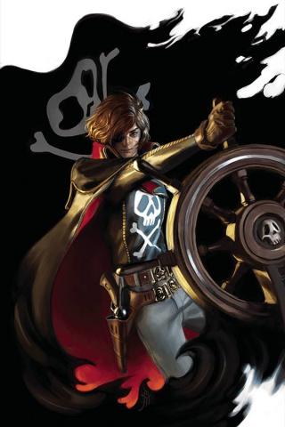 Space Pirate: Captain Harlock #4 (20 Copy Mercado Virgin Cover)
