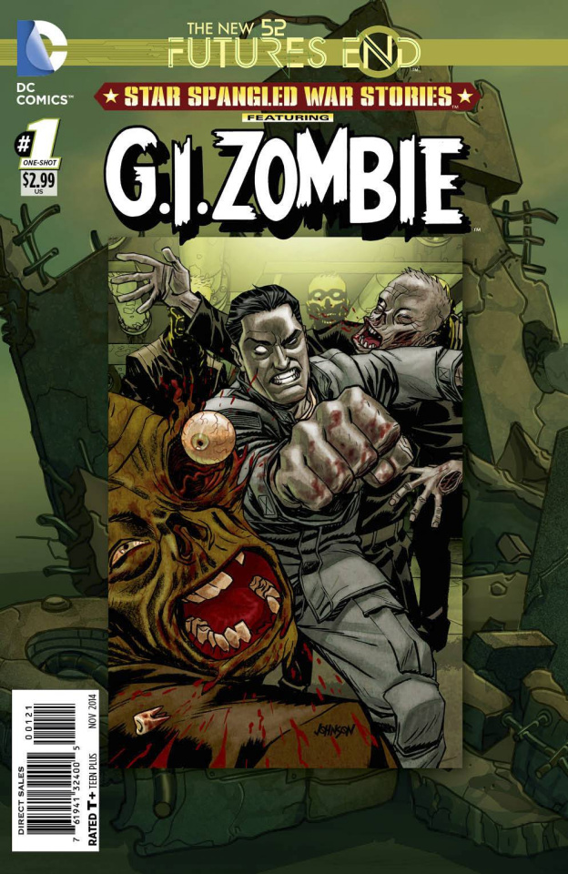 Star Spangled War Stories: G.I. Zombie - Future's End #1 (Standard Cover)