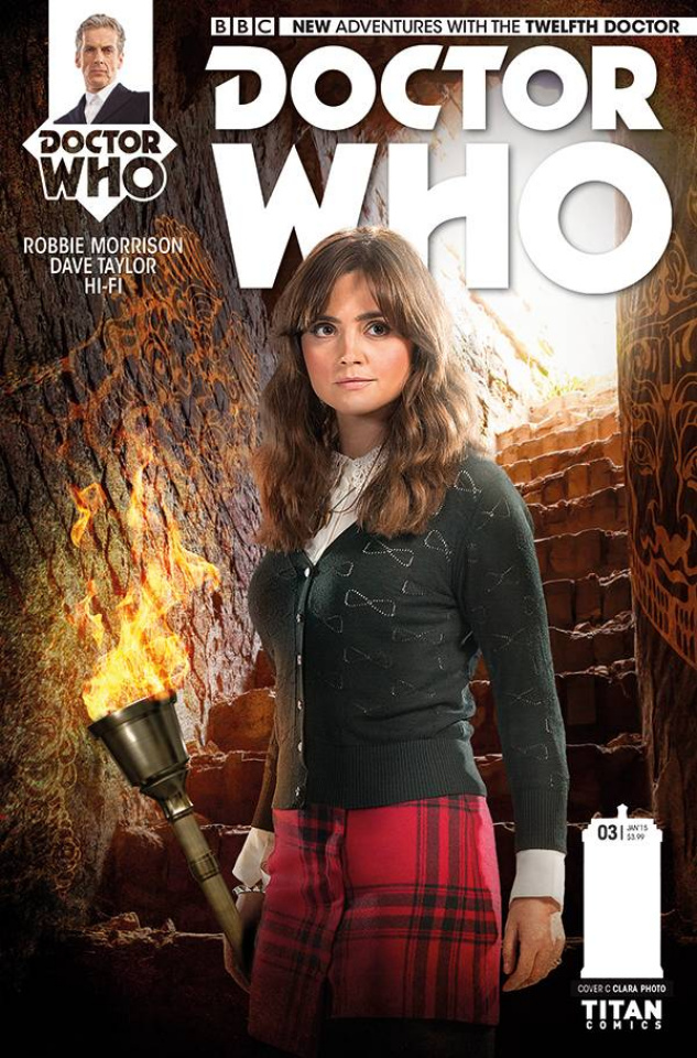 Doctor Who: New Adventures with the Twelfth Doctor #3 (10 Copy Clara Photo Cover)