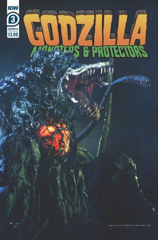 Godzilla: Monsters & Protectors #3 (Photo Cover)