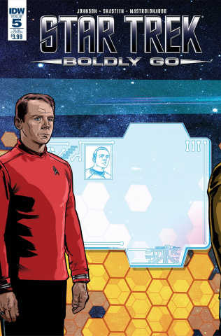 Star Trek: Boldly Go #5 (Subscription Cover)