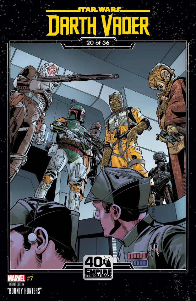 Star Wars: Darth Vader #7 (Sprouse Empire Strikes Back Cover)