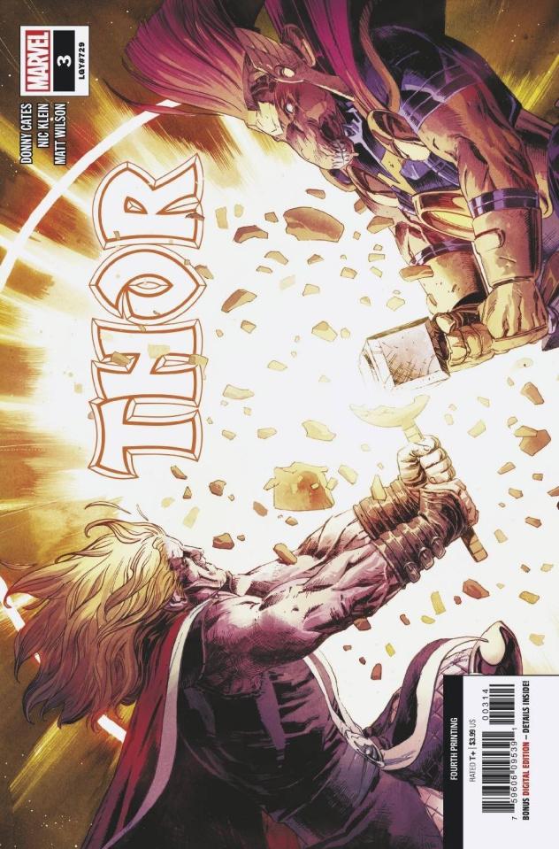 Thor #3 (Klein 4th Printing)