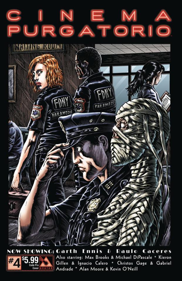 Cinema Purgatorio #4 (Code Pru Cover)