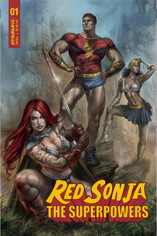 Red Sonja: The Superpowers #1 (Parrillo Cover)