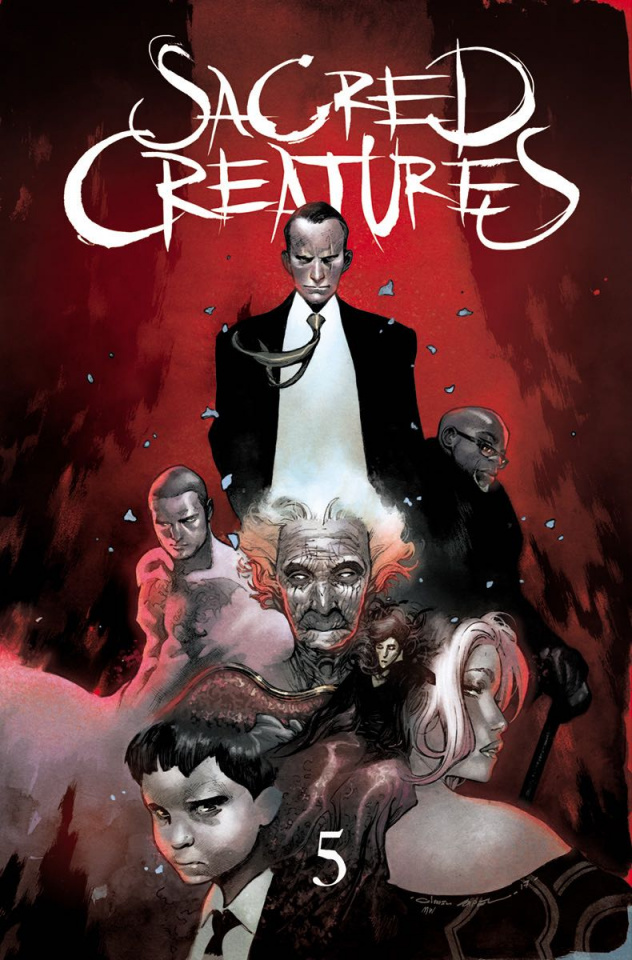 Sacred Creatures #5 (25 Copy Cover)