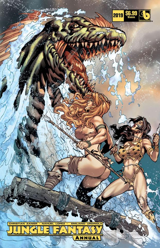 Jungle Fantasy Annual 2019 (Vixens Cover)