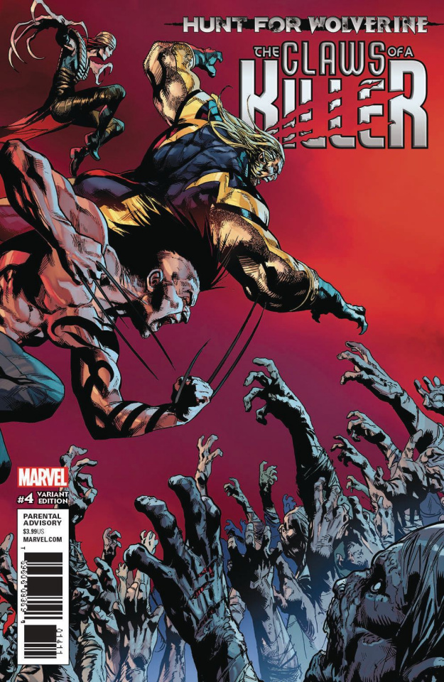 Hunt for Wolverine: The Claws of a Killer #4 (Shaw Cover)