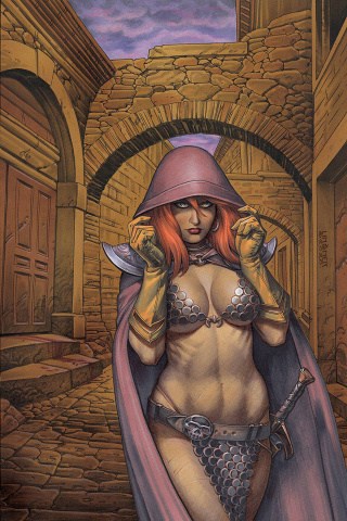 Red Sonja #21 (Linsner Virgin Cover)