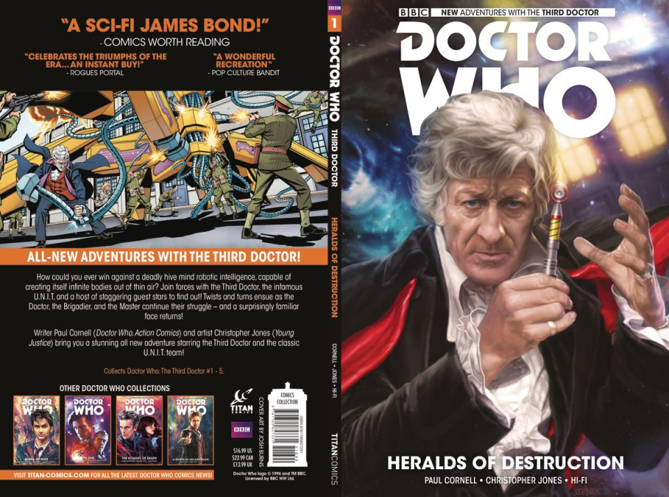 Doctor Who: New Adventures with the Third Doctor Vol. 1: Heralds of Destruction