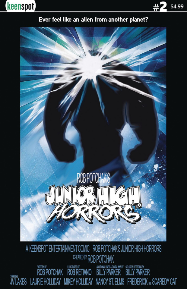 Junior High Horrors #2 (The Thing Parody Cover)