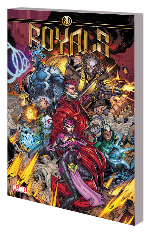 Royals Vol. 1: Beyond Inhuman
