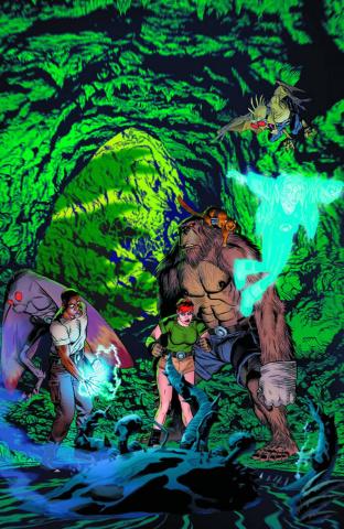 Perhapanauts: Danger Down Under #5 (Golden Cover)
