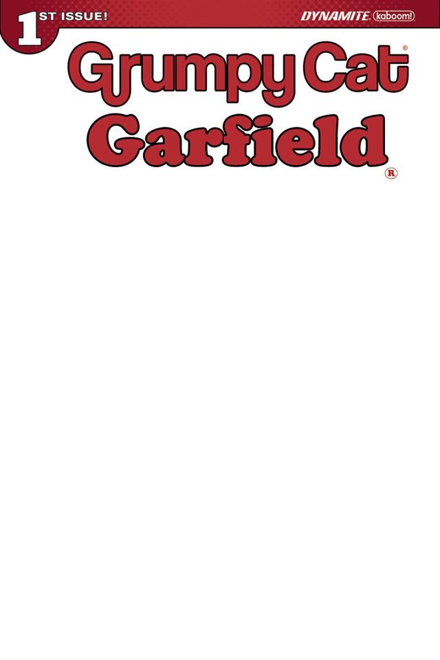 Grumpy Cat / Garfield #1 (Blank Authentix Cover)
