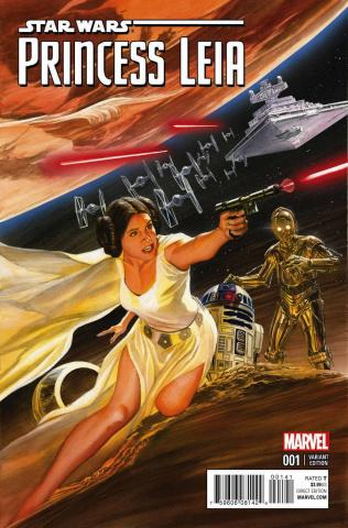 Princess Leia #1 (Ross Cover)