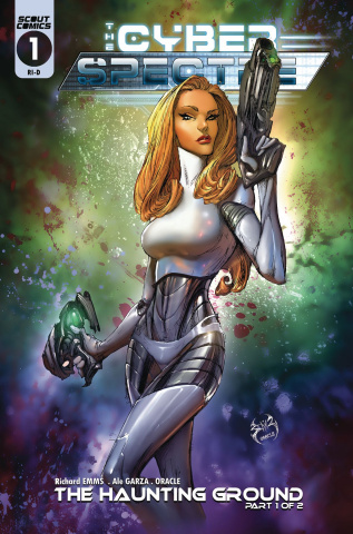 The Cyber Spectre #1 (Joe Benitez Cover)