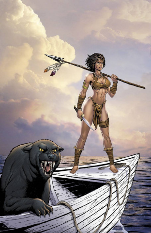 Grimm Fairy Tales: The Jungle Book - Fall of the Wild #4 (Reyes Cover)