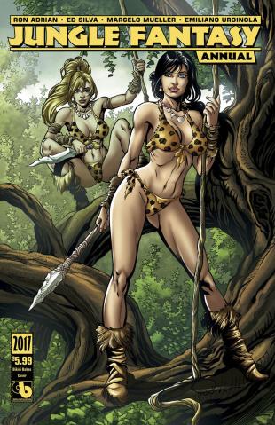 Jungle Fantasy Annual 2017 (Bikini Babes Cover)