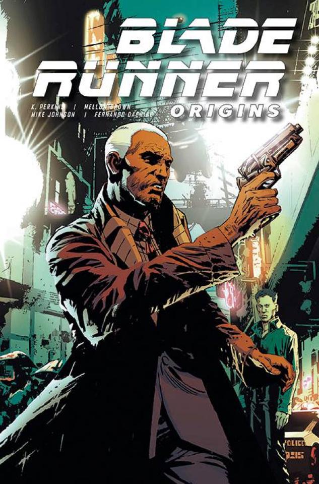 Blade Runner: Origins #6 (Guice Cover)