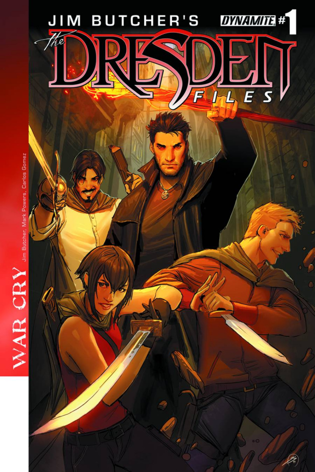 The Dresden Files: War Cry #1