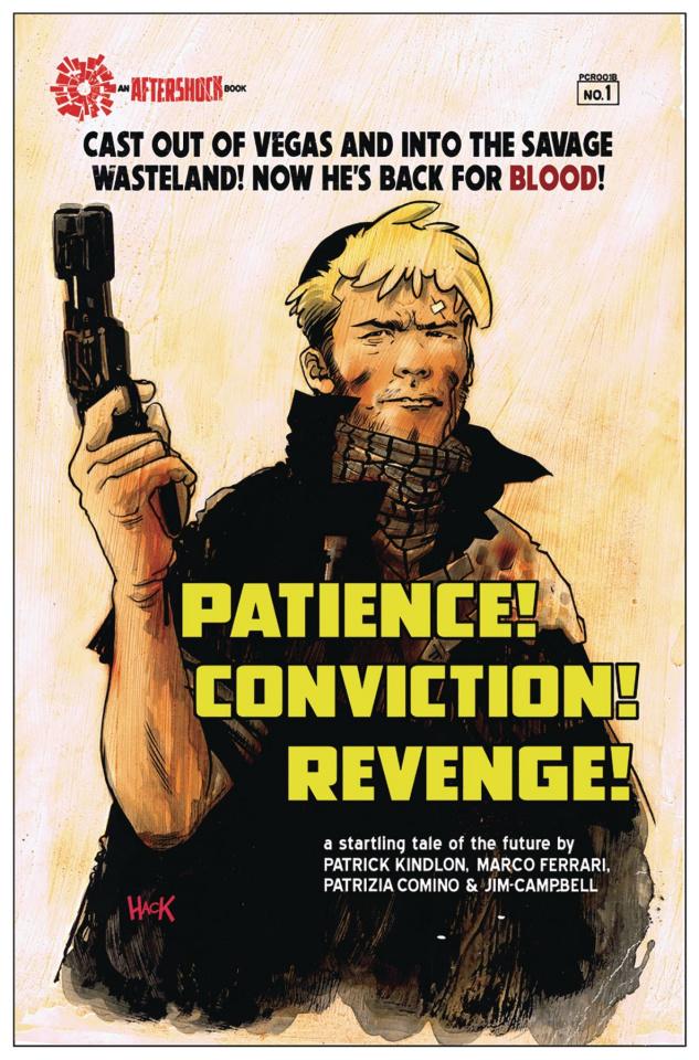 Patience! Conviction! Revenge! #1 (Hack Cover)