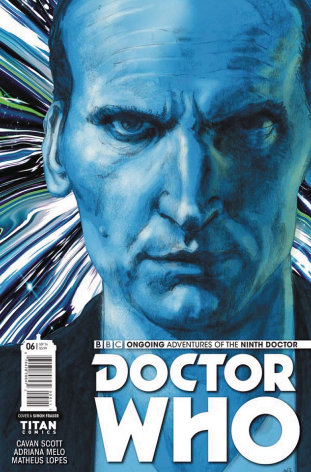 Doctor Who: New Adventures with the Ninth Doctor #6 (Fraser Cover)