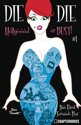 Die Kitty Die! Hollywood or Bust #1 (Parent Cover)