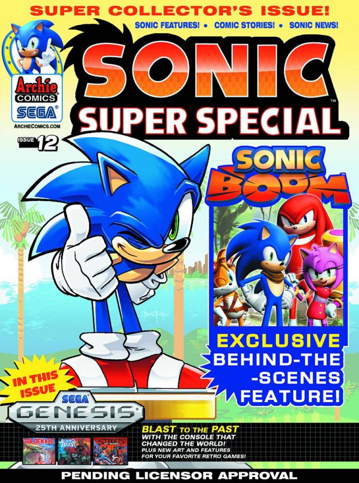 Sonic: Super Special Magazine #12