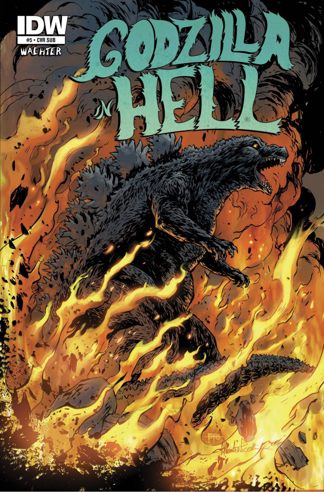 Godzilla in Hell #5 (Subscription Cover)