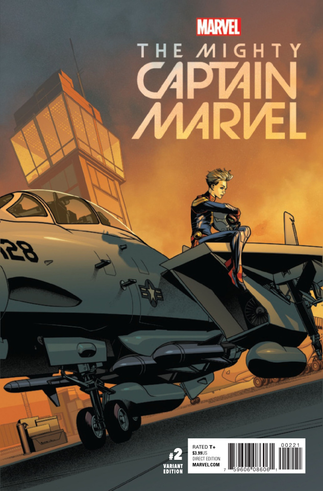The Mighty Captain Marvel #2 (McKone Cover)