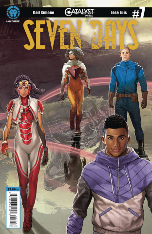 Catalyst Prime: Seven Days #7 (Sejic Connecting Cover)