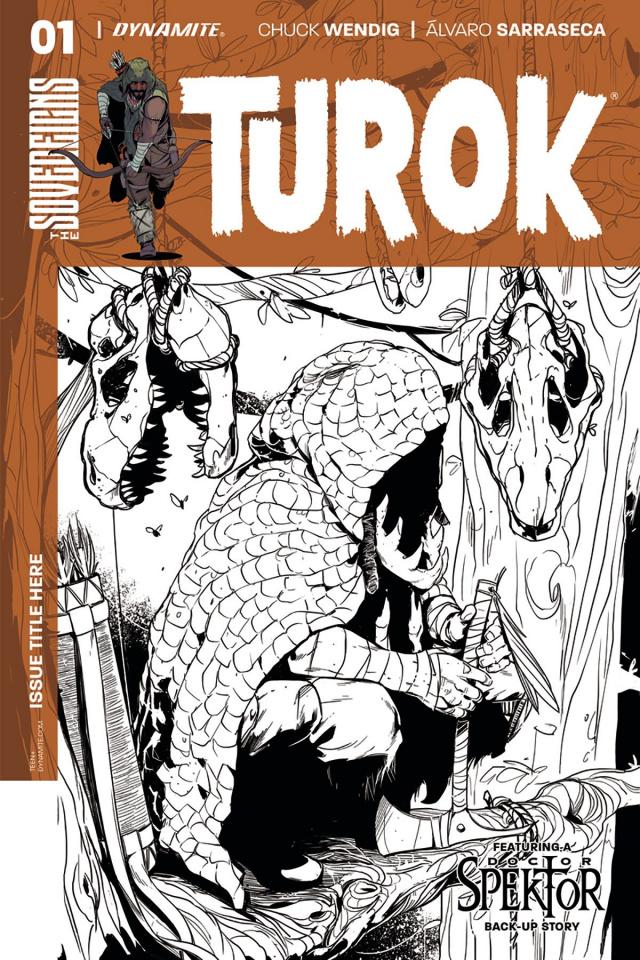 Turok #1 (20 Copy Sarraseca B&W Cover)