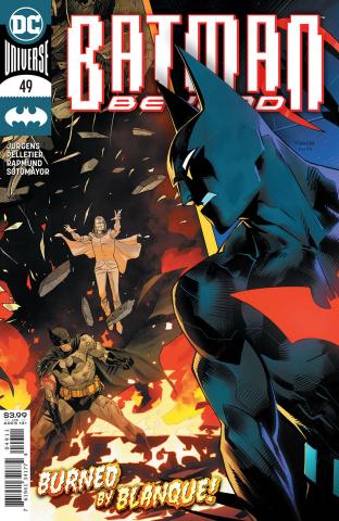 Batman Beyond #49 (Dan Mora Cover)