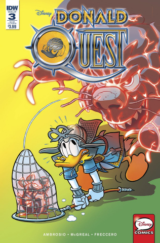 Donald Quest #3 (Subscription Cover)