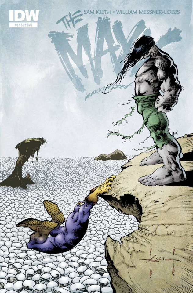 The Maxx: Maxximized #8 (Subscription Cover)