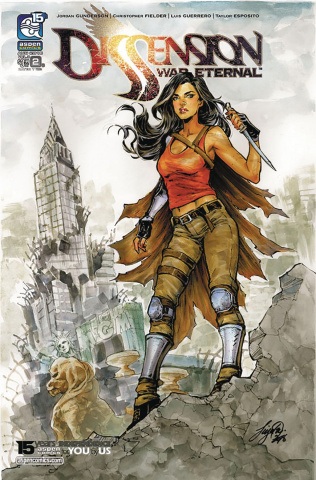 Dissension: War Eternal #2 (Oum Cover)