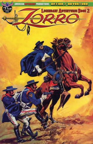 Zorro: Legendary Adventures, Book 2 #1