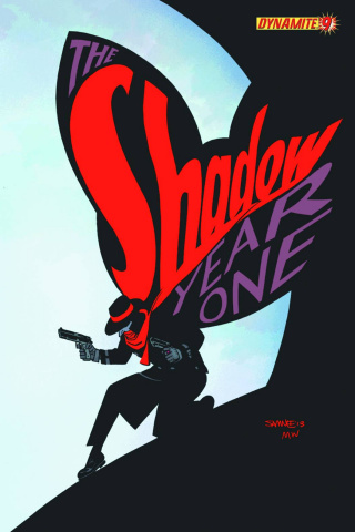 The Shadow: Year One #9 (Samnee Cover)