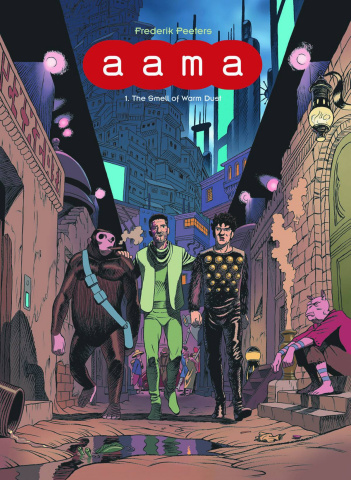 aama Vol. 1: The Smell of Warm Dust