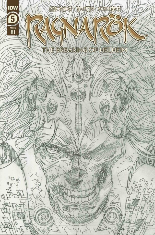 Ragnarök: The Breaking of Helheim #5 (10 Copy Simonson Cover)